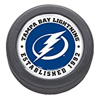 NHL Tampa Bay Lightning Official NHL Official Size Hockey Puck By Wincraft