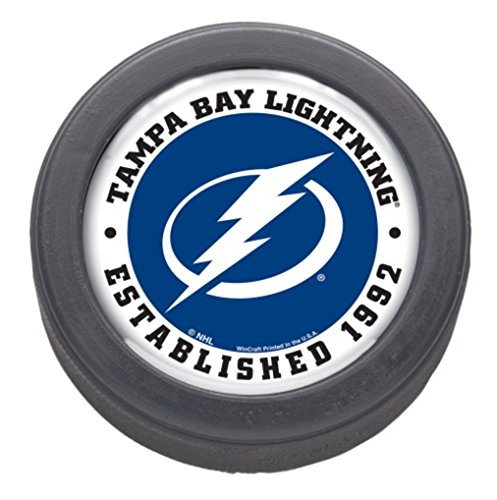 - Wincraft NHL Tampa Bay Lightning Official NHL Official Size Hockey Puck