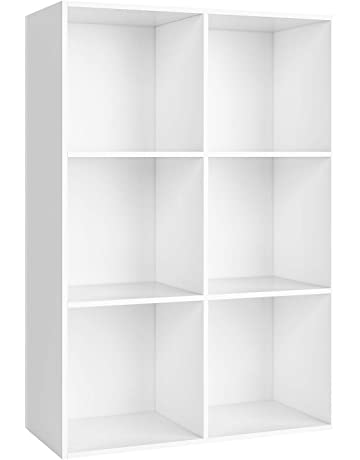 2 Tiers Diy Shelving Cd Book Storage Box Unit Display Bookcase Shelf Home Office Home