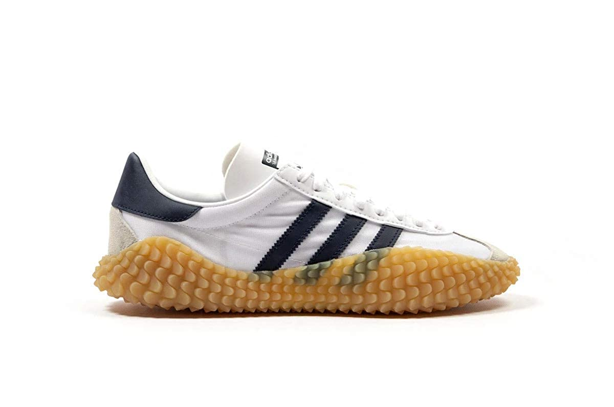 Blanc (Ftwr blanc Collegiate Navy Gum 3 Ftwr blanc Collegiate Navy Gum 3) 40 2 3 EU adidas Countryxkahommeda, Chaussures de Gymnastique Homme