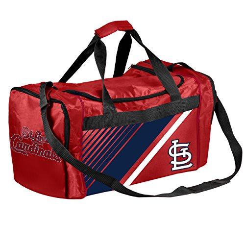 Louis Cardinals Bean Bag - St. Louis Cardinals Border Stripe Duffle Bag