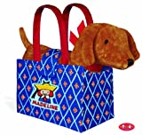 Yottoy - Genevieve Puppy Dog Plush in Madeline Tote Bag, 9'