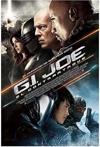 G I Joe Retaliation 2013 8 Inch X10 Inch Photo Movie Poster 8 Kn At Amazon S Entertainment Collectibles Store