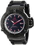 Invicta Men's 13919 Subaqua Noma III GMT Black Dial Black Polyurethane Watch