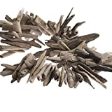 Factory Direct Craft Natural Nautical Weathered Driftwood Garland for Decorating, Creating and Embellishing