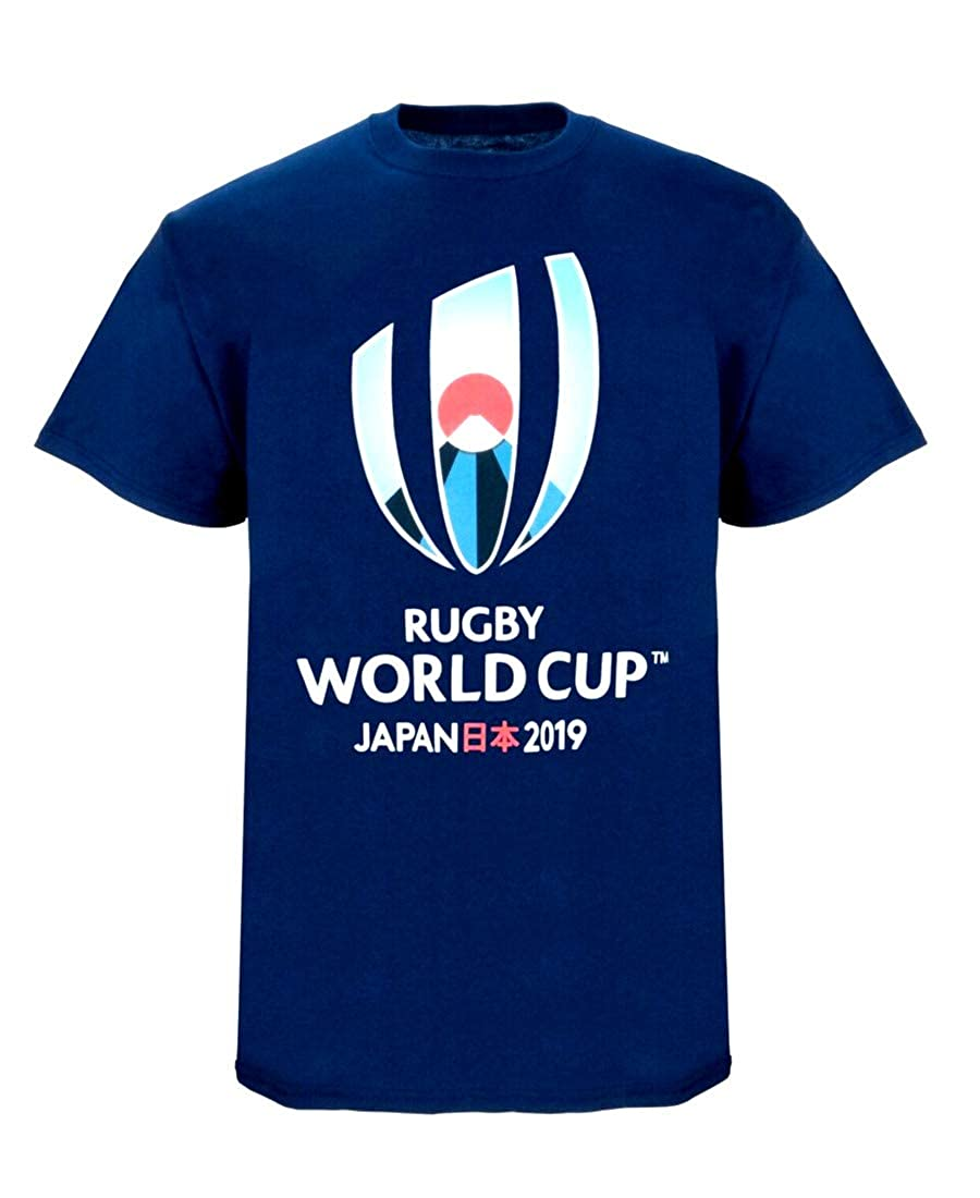 Navy Rugby World Cup 2019 Kids Large Logo T-Shirt