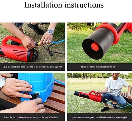 Nebulizzatore Portatile con Batteria al Litio per irrorazione di pesticidi ANJING Spruzzatore Elettrico per Zaino da 20 Litri Grandi luoghi pubblici e disinfezione Industriale