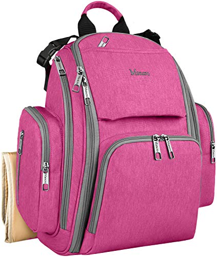 Backpack Pockets Waterproof Multi Function Changing