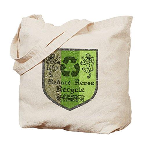 CafePress-Borsa riciclaggio, riutilizzabile, motivo: medievale-Borsa di tela