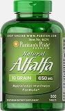 Puritan's Pride Natural Alfalfa 650 mg-300 Tablets