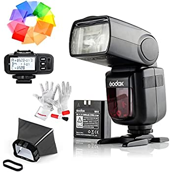 Godox Ving V860IIS 2.4G GN60 TTL HSS 1/8000s Li-on Battery Camera Flash Speedlite with X1T-S Wireless Flash Trigger for Sony - 1.5S Recycle Time 650 Full Power Pops Supports TTL/M/Multi/S1/S2