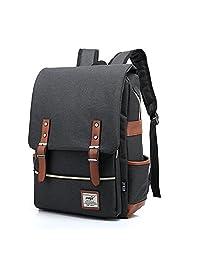 "Advocator 15"" Laptop Bag Business Case Classic Daypack Bookbag Travel Backpack School Bag"