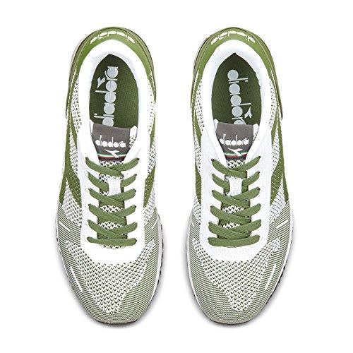Diadora Galapagos C6113 nero Uomo Sneaker Weave Verde Titan RTfqwrCR