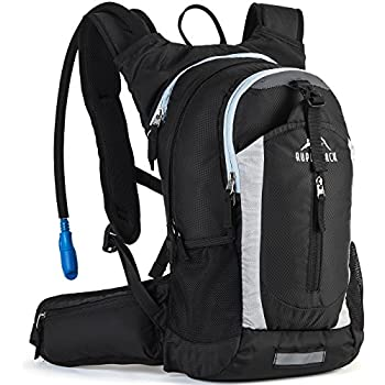 d5528de6614 RUPUMPACK Insulated Hydration Backpack Pack with 2.5L BPA Free Bladder,  Lightweight Daypack Water Backpack for Hiking Running Cycling, School ...