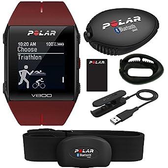 Polar V800 GPS reloj deportivo con sensor de frecuencia cardíaca H7 ...