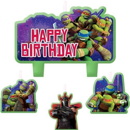 4 piezas, velas de las Tortugas Ninja en grande y pequeño ...