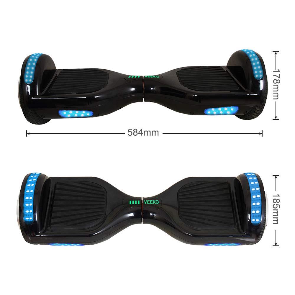 Amazon.com: VEEKO UL 2272 Hoverboard - Altavoz Bluetooth con ...