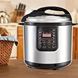 KUPPET 9-IN-1 Multipot-8 QT Multi-Use Electric Pressure Cooker-Pressure Cooker, Rice Cooker, Slow Cooker, Steamer, Sauté, Yogurt Maker, Warmer, Cakes & Eggs Cooker-Suit for 8-10 People-1200W