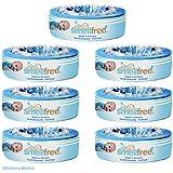 Smellfree Pack de recharges pour Angelcare Poubelle à couche 6 +1 gratuit
