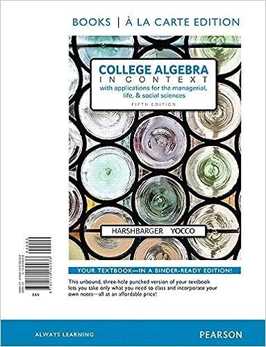 College algebra in context books a la carte edition 5th edition college algebra in context books a la carte edition 5th edition 5th edition fandeluxe Image collections