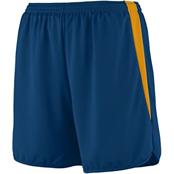 Augusta Sportswear Boys' RAPIDPACE Track Short M Navy/Gold