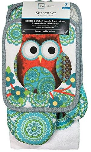 owl tabletop set - 2