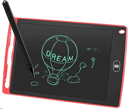 LCD Light Energy Small Blackboard Electronic Blackboard//Writing Board 12 Inch One-Click Delete Painting Graffiti Children Memo