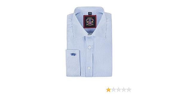 Windsor Camisa informal de rayas finas formal y Oxford con ...