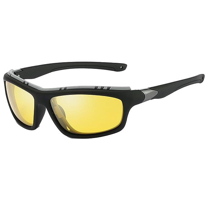 Polarizado Gafas de sol deportivas para hombres mujeres Ciclismo Correr Conducir Pesca Golf Béisbol