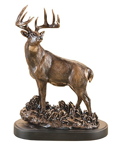 (DEMDACO One Chance Bronze Color 12 x 8 Hand-cast Resin Decorative Sculpture)