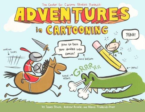 Download Adventures In Cartooning (Turtleback School & Library Binding Edition) ebook