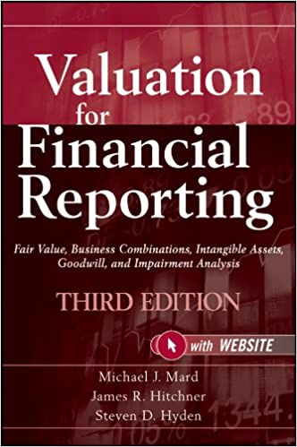 Amazon valuation for financial reporting fair value business amazon valuation for financial reporting fair value business combinations intangible assets goodwill and impairment analysis ebook michael j fandeluxe Gallery