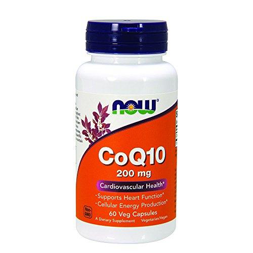 NOW CoQ10 200 Veg Capsules