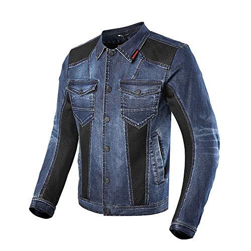 HEROBIKER Motorcycle Denim Jacket Racing Hiking Riding Motorbike Clothes Breathable