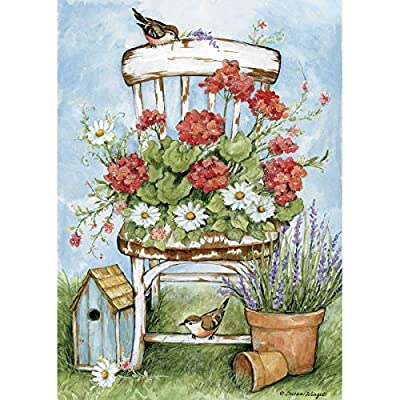 LANG Geranium Chair 300 Piece Jigsaw Puzzle: Toys & Games