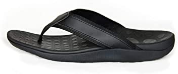 48ff353d378824 J2X Sport Orthotic Arch Support Plantar Fasciitis Recovery Cushion Flip  Flops Sandals
