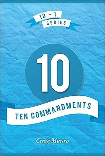 Ten Commandments (10-1 Series)