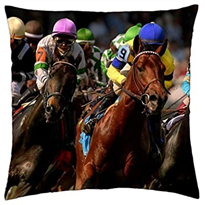 The Kentucky Derby - Throw Pillow Cover Case (18