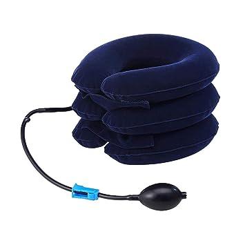 Retractor cervical. Almohada hinchable con cuello flexible y ...