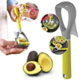 AVOCADO SLICER KNIFE | KITCHEN COOKING MULTITOOL, GADGET | Seed Remover, Peeler, Pitter, Guacamole Masher, Splitter| Less Mess