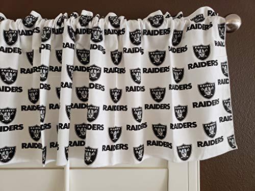 Zen Creative Designs 100 Cotton NFL Sports Team Oakland Raiders White Multi Pri
