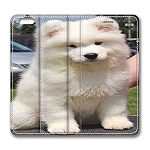 Iphone 6 Case,leather Iphone 6 Protective Case for Ultimate Protect iphone 6 with American Eskimo Dog Breed by icecream design