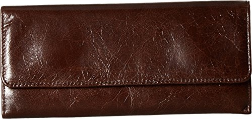 Hobo Womens Leather Sadie Continental Clutch Wallet (Espresso) by HOBO