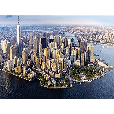 Nathan Vista Del Cielo 500 Pezzi Casse Tete Puzzle Adulto Usa New York Citt Manhattan 4005556872213 Nant