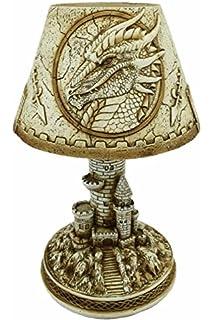 À Bureau Lampe Dragon PlasmaMotif Tête De 7mIgbf6Yyv