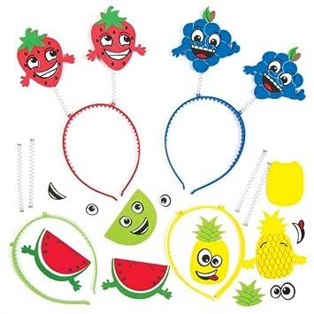Kopfschmuck Freche Früchte Für Kinder Zum Basteln Und Als