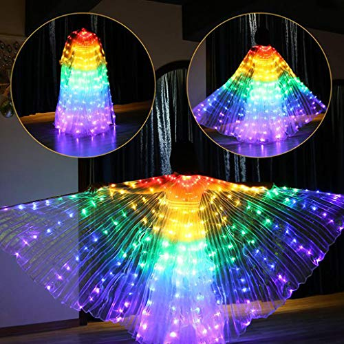 Flurries  LED Glow Angel Isis Wings -