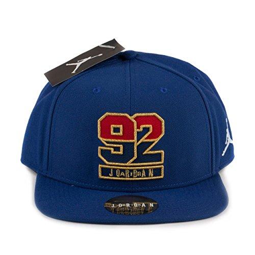 e9c93797297580 ... black white 619360 017 6e400 1f52c closeout air jordan retro 7 92 snapback  hat in deep royal blue fire red b86b9 e82e2 ...