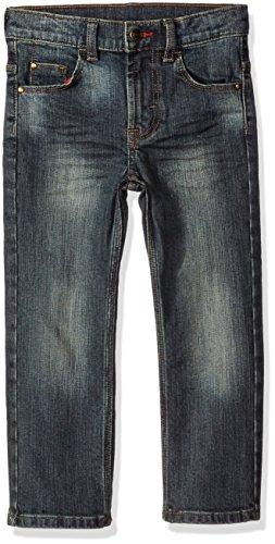 Wrangler Boys' Husky Boys' Premium Straight Fit Jean, Authentic Rock, 16 Husky