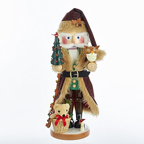 2017 Steinbach Woodland Santa with Animals and Tree German Christmas Nutcracker